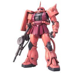 Figura Zaku II de Char ver 2 Model Kit Mobile Suit Gundam - Imagen 1