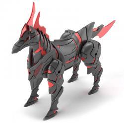 Figura Model Kit War Horse SD Gundam World Heroes - Imagen 1