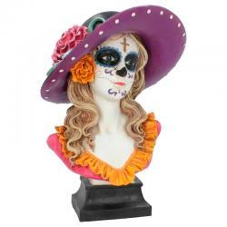 Busto Marigold Dia de Muertos - Imagen 1