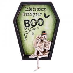 Cuadro Life is Scary Find Your Boo - Imagen 1