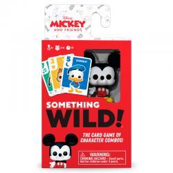 Juego cartas Something Wild! Mickey and Friends Disney Aleman / Español / Italiano - Imagen 1