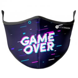 Mascarilla reutilizable Game Over M - Imagen 1