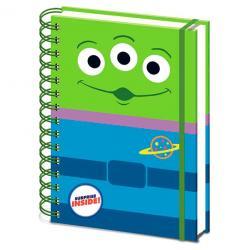 Cuaderno A5 Alien Toy Story Disney Pixar - Imagen 1