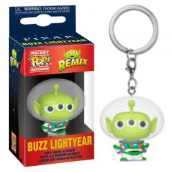 Llavero Pocket POP Disney Pixar Alien Remix Buzz - Imagen 1