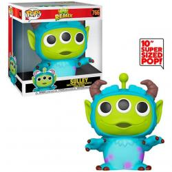 Figura POP Disney Pixar Alien Remix Sulley 25cm - Imagen 1