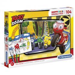 Puzzle Happy Color Ricky Zoom 104pzs - Imagen 1