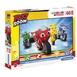 Puzzle Maxi Ricky Zoom 60pzs - Imagen 1