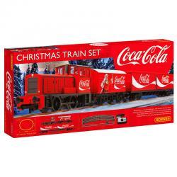 Set tren Navidad Coca Cola - Imagen 1