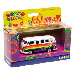 Campervan Volkswagen Peace Love and Wishes - Imagen 1