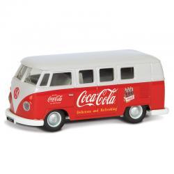 Furgoneta Early 1960 s VW Camper Coca Cola - Imagen 1