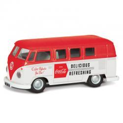 Furgoneta Late 1960 s VW Camper Coca Cola - Imagen 1