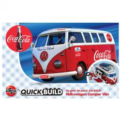 Camper Van VW QuickBuild Coca Cola - Imagen 1