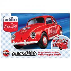 Coche VW Beetle QuickBuild Coca Cola - Imagen 1