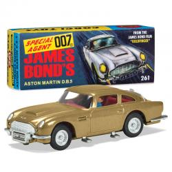 Coche Aston Martin DB5 Goldfinger 60 s version James Bond - Imagen 1
