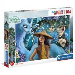 Puzzle Raya y el Ultimo Dragon Disney 104pzs - Imagen 1