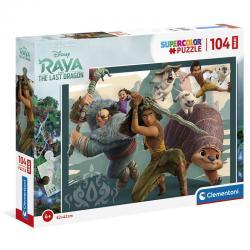 Puzze Maxi Raya y el Ultimo Dragon Disney 104pzs - Imagen 1