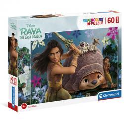 Puzze Maxi Raya y el Ultimo Dragon Disney 60pzs - Imagen 1