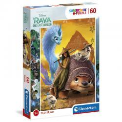 Puzzle Raya y el Ultimo Dragon Disney 60pzs - Imagen 1