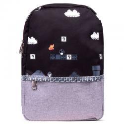 Mochila 8 Bit Super Mario Bros Nintendo 41cm - Imagen 1