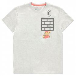 Camiseta 8 Bit Super Mario Bros Nintendo - Imagen 1