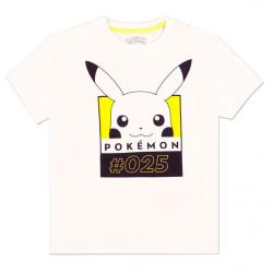 Camiseta mujer Pikachu 025 Pokemon - Imagen 1