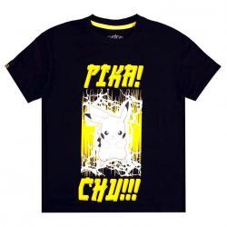 Camiseta mujer PIKA! CHU!! Pokemon - Imagen 1