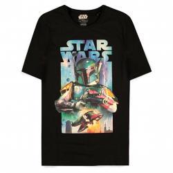 Camiseta Boba Fett Poster Star Wars - Imagen 1