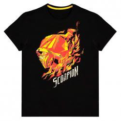 Camiseta Scorpion Flame Mortal Kombat - Imagen 1