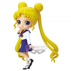 Figura Usagi Tsukino Pretty Guardian Sailor Moon Eternal the Movie Q Posket 14cm - Imagen 1