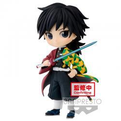 Figura Giyu Tomioka Demon Slayer: Kimetsu no Yaiba vol.3 Q Posket 7cm - Imagen 1