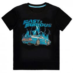 Camiseta Blue Flames Fast and Furious - Imagen 1