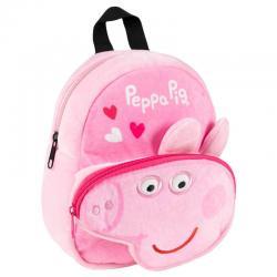 Mochila peluche Peppa Pig 31cm - Imagen 1