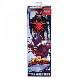 Figura Titan Miles Morales Spiderman Maximum Venom Marvel 30cm - Imagen 1