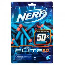 Recarga 50 dardos Elite 2.0 Nerf - Imagen 1