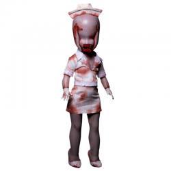 Figura Bubble Head Nurse Silet Hill 2 Living Dead Dolls 25cm - Imagen 1