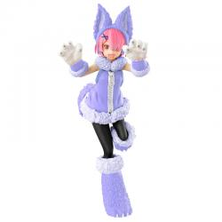 Estatua Ram The Wolf and the Seven Kids Re:ZERO Starting Life in Another World 21cm - Imagen 1