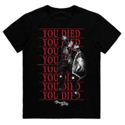Camiseta You Died Knight Demons Souls - Imagen 1
