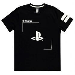 Camiseta Black and White Logo PlayStation - Imagen 1