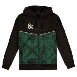 Sudadera capucha Drizzt Symbol Dungeons and Dragons - Imagen 1