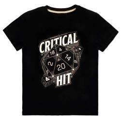 Camiseta Critical Hit Dungeons and Dragons - Imagen 1