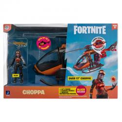 Set Helicoptero Choppa + figura Blaze Fortnite - Imagen 1