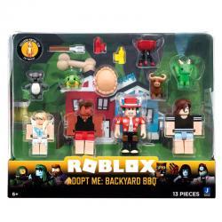 Set Adopt Me: Backyard BBQ Roblox - Imagen 1