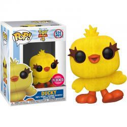 Figura POP Disney Toy Story 4 Ducky Flocked Exclusive - Imagen 1
