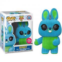 Figura POP Disney Toy Story 4 Bunny Flocked Exclusive - Imagen 1