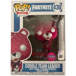 Figura POP Fortnite Cuddle Team Leader Flocked Exclusive - Imagen 1