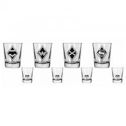 Set vasos chupito Batman v Superman - Imagen 1