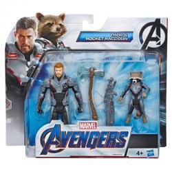 Set figuras Vengadores Avengers Marvel - Imagen 1