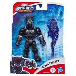 Figura Black Panther Marvel Super Hero Adventures 12,5cm - Imagen 1