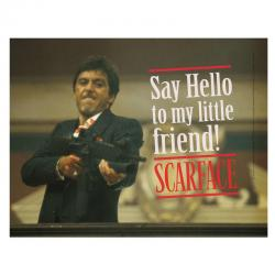 Poster cristal Say Hello Scarface - Imagen 1