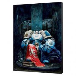 Cuadro madera Marneus Calgar Warhammer 40000 - Imagen 1